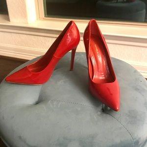Shoe Republic LA Red Pump Shoes